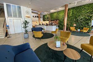 Sfeervolle lounge