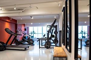Brand new gym